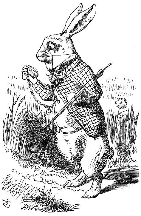 White  Rabbit  &  The Jabberwocky